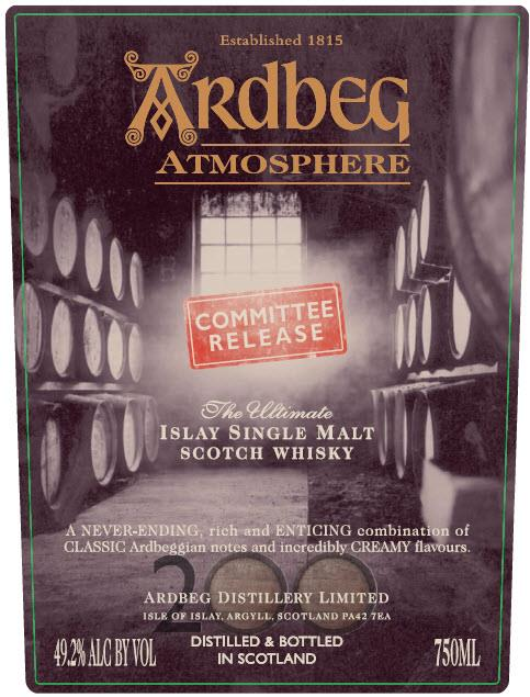 Ardbeg Atmosphere (氣氛)