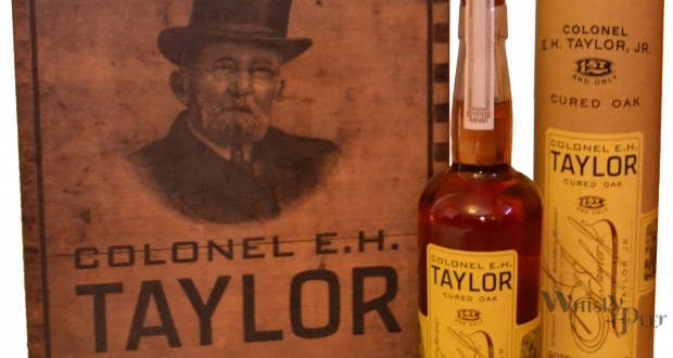 BUFFALO TRACE DISTILLERY RELEASES COLONEL E.H. TAYLOR, JR. CURED OAK BOURBON WHISKEY