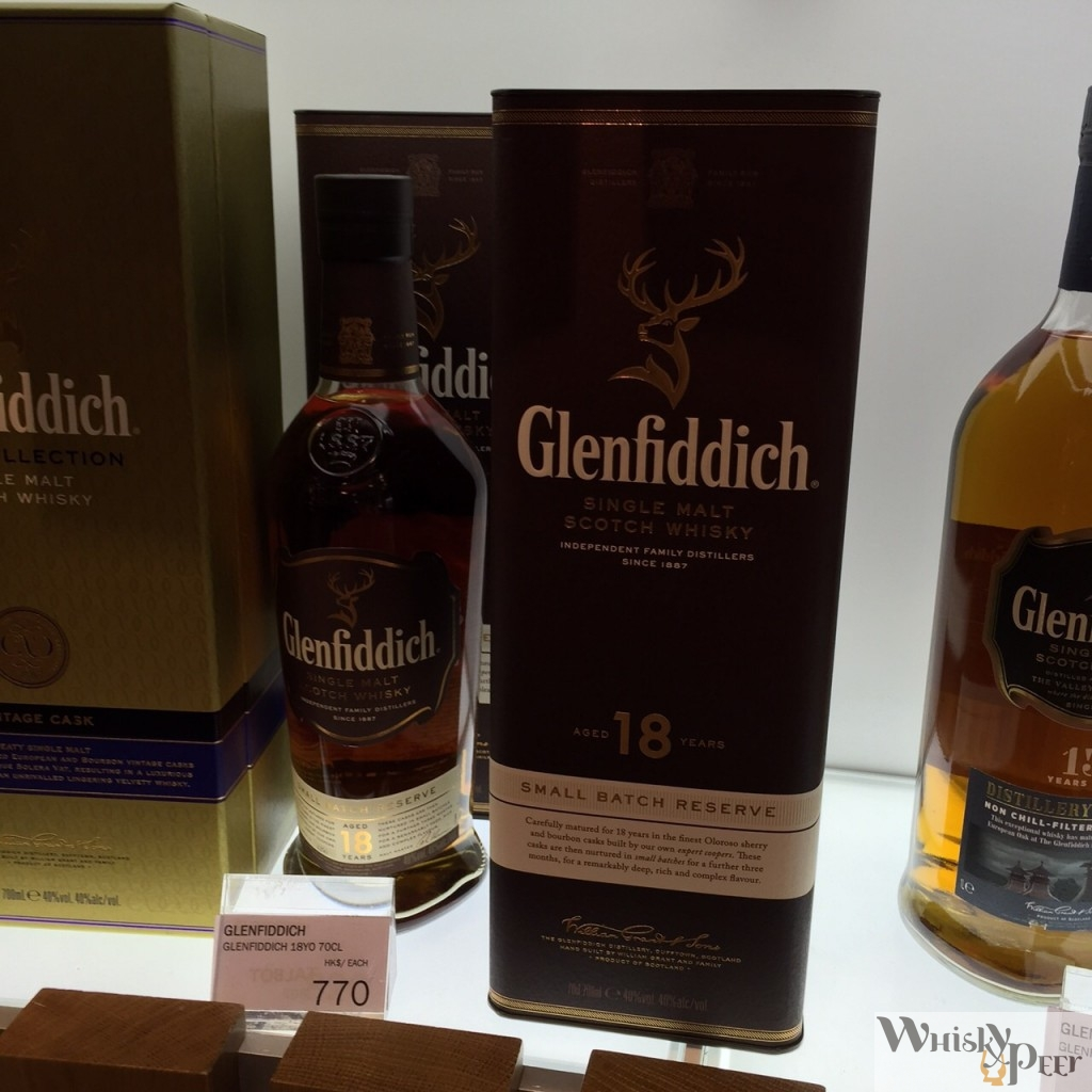 Glenfiddich 18 Year Old DFS PRICE