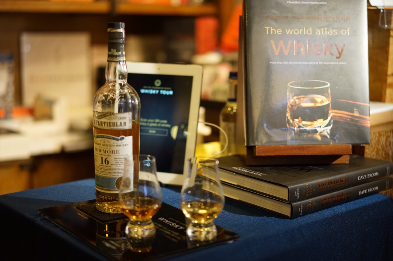 Landmark Men Whisky Tour 2015_Bowmore