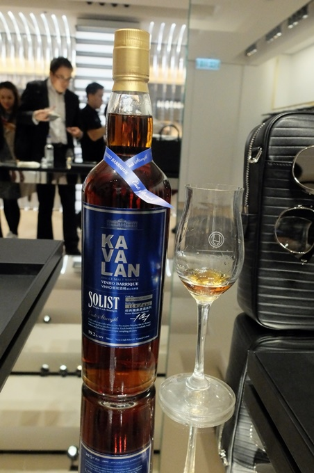 就連剛獲獎的Kavalan Solist Vinho Barrique Single Cask Strength也供免費試飲