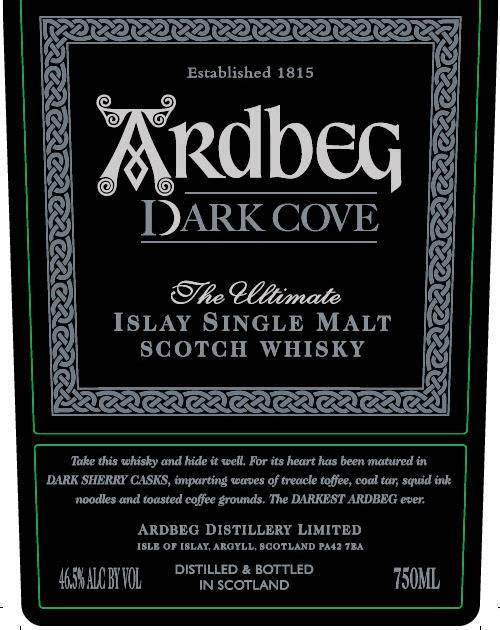 Ardbeg Dark Cove Front