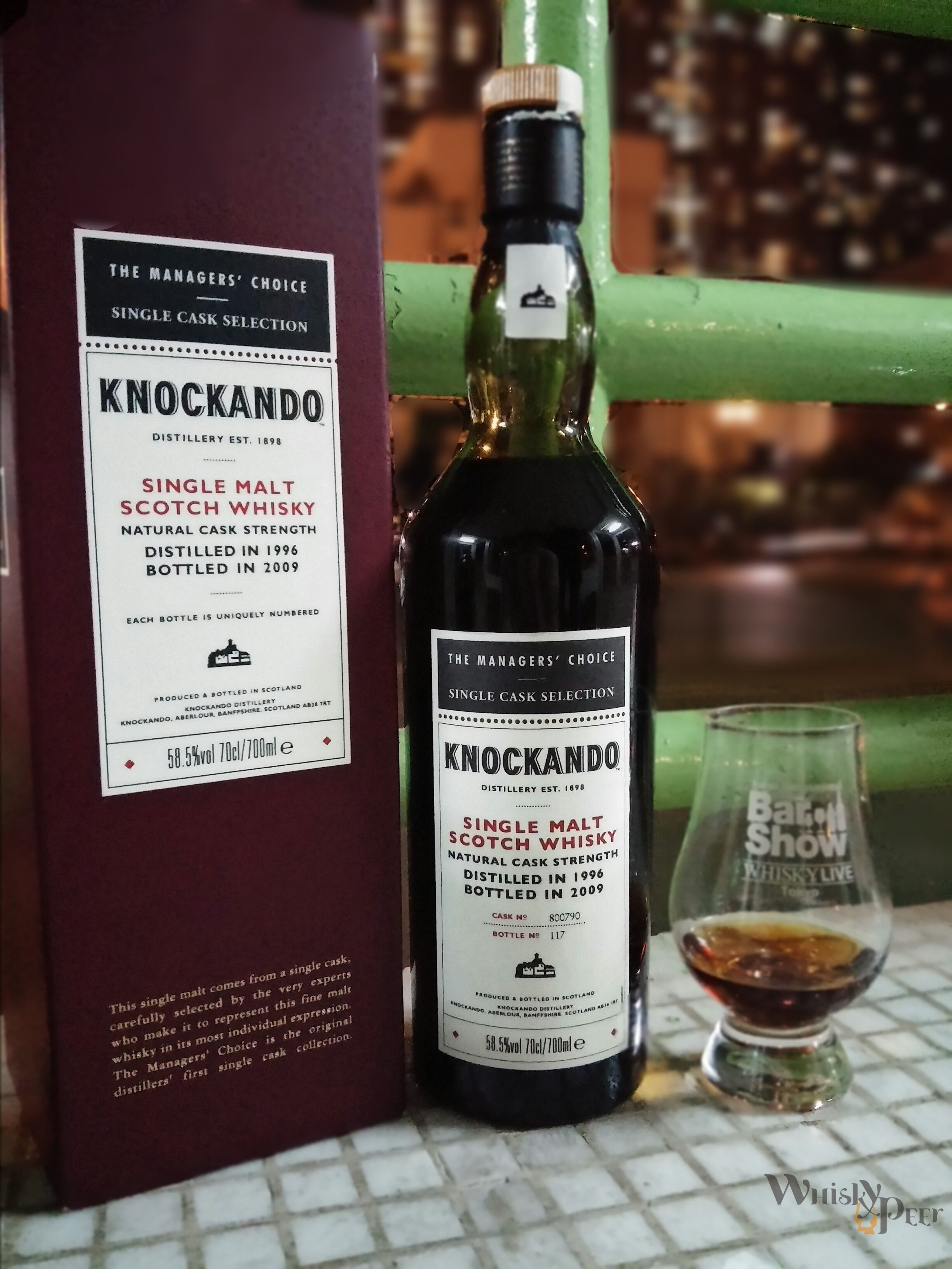 Knockando 1996 Managers Choice