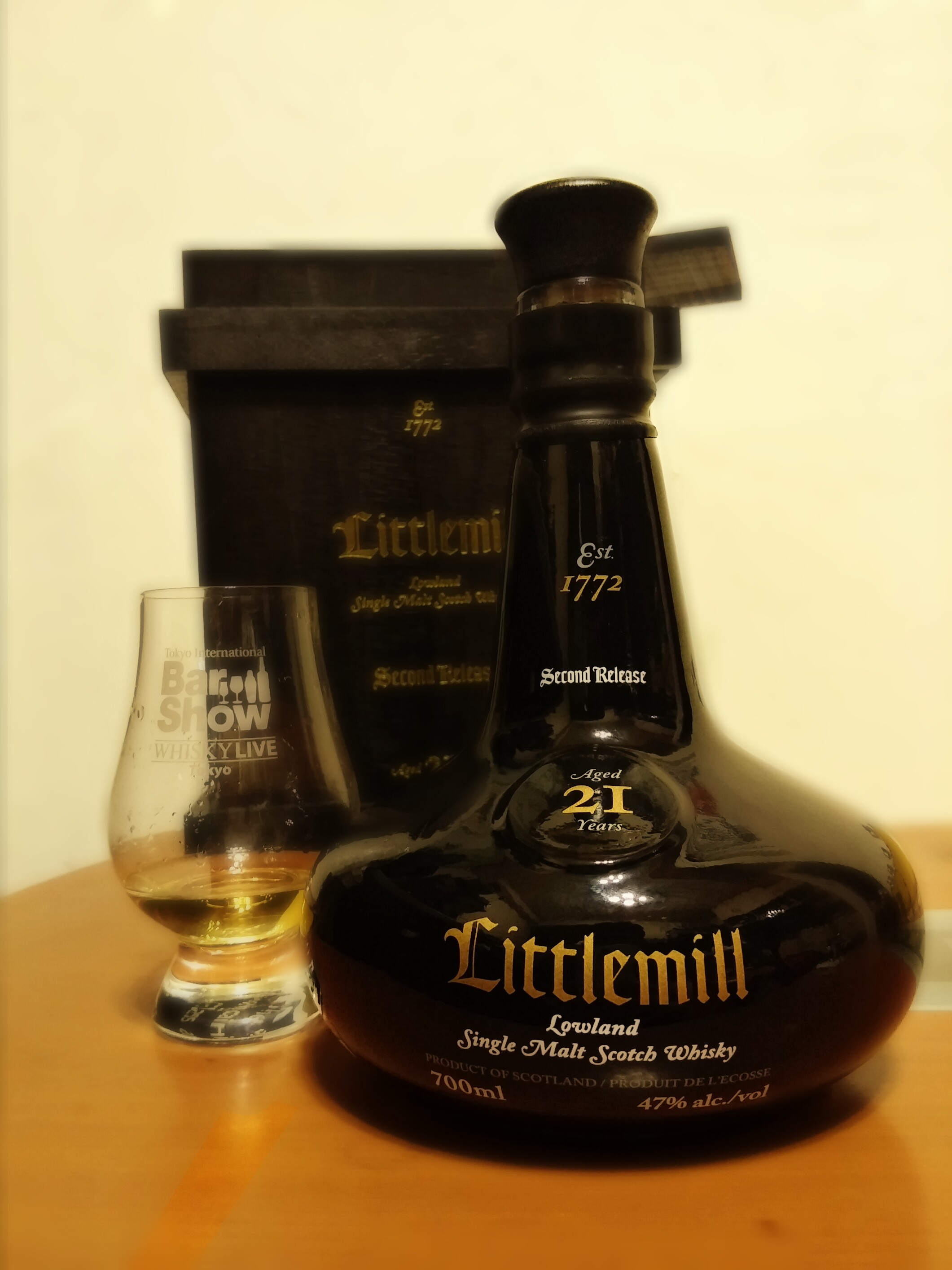 Littlemill 21 years old (2nd Release)
