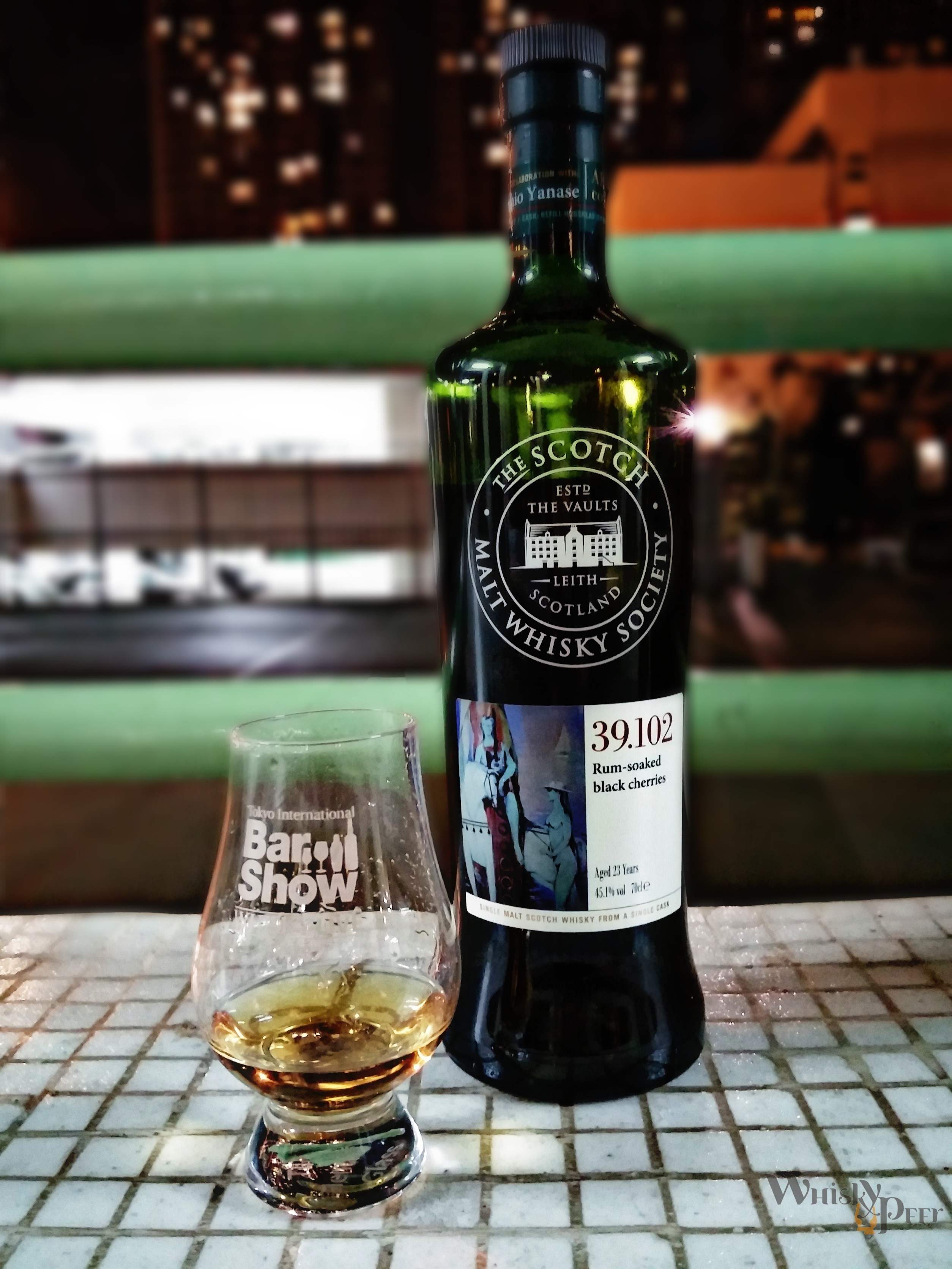 SMWS 39.102 Rum-soaked black cherries