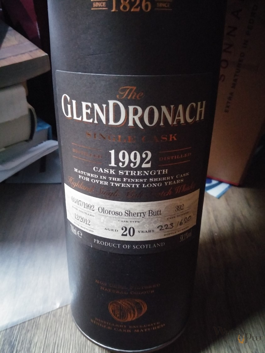 GlenDronach 1992 cask strength